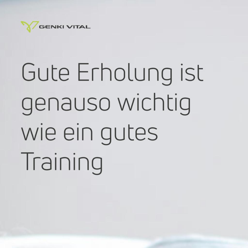"""""""Ruhe und Erholung ist auch Training"""" – Zitat von Markus Ryffel"""